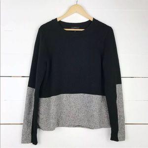 J. Crew cashmere colorblock sweater